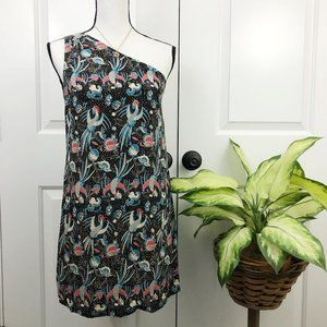 French Connection Silk one shoulder dress 2